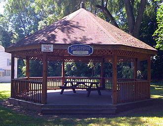 Mahoningtown, Pennsylvania - Gazebo in Darlington Park