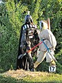 Darth Vader and Luke Skywalker scarecrows - Blewbury Scarecrow Competition, Oxfordshire - geograph.org.uk - 1379674.jpg