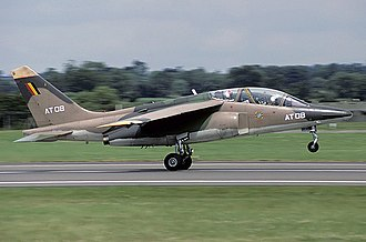 Second Allied Tactical Air Force - A Alpha Jet taking off in 1985