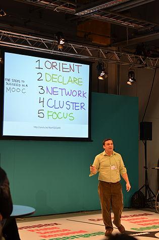 Dave Cormier at Skolforum 2012-10-30.JPG
