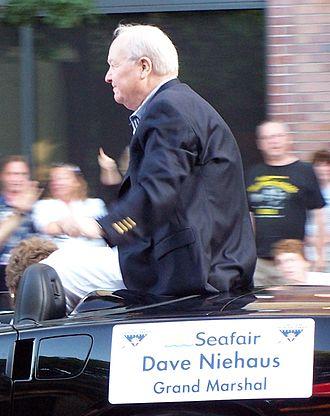 Dave Niehaus - Niehaus in July 2007