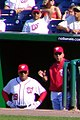 Davey Johnson and Pat Corrales (5896054256).jpg