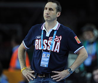 David Blatt - David Blatt as the head coach of the Russian national basketball team in 2011.