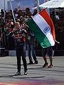 David Coulthard in India, 2015.jpg