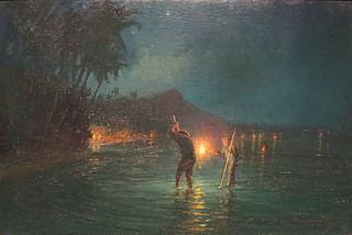 Torchlight Fishing at Waikiki
