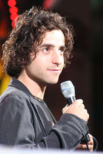 Krumholtz at the premiere of Serenity in September 2005 David Krumholtz at the Serenity Premiere.jpg