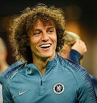 David Luiz at Baku before 2019 UEFA Europe League Final.jpg