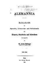 Alemannia (Band 08)