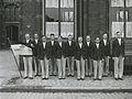De groep van de K.L.M. Vereeniging uit Den Haag onder leiding van de heer mr. H. – F40897 – KNBLO.jpg