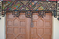 Decorated Door - Pakistan.JPG