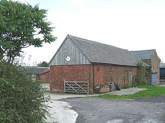 Listed buildings in Smallwood, Cheshire - Image: Deers Green Farm geograph.org.uk 230389