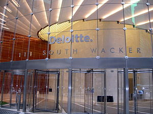 Deloitte - Deloitte Office Building in Downtown Chicago