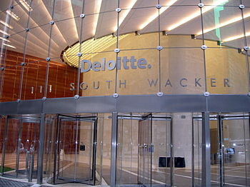 English: Deloitte Office Building in Downtown ...