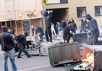 Copenhagen December Riot - Image: Demo 693