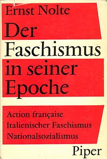 book by Ernst Nolte