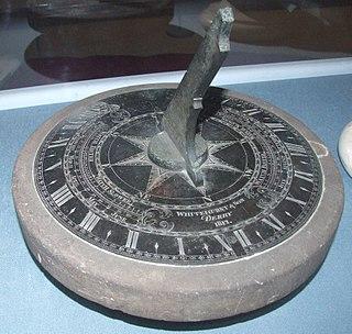 Whitehurst & Son sundial sundial