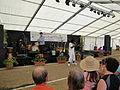 Derek Sandy performing at Yarmouth Old Gaffers Festival 2011.JPG