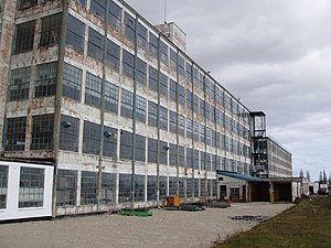 Bata shoe factory (East Tilbury) - The disused factory in 2006