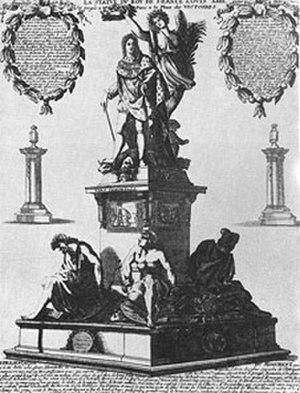 Place des Victoires - Desjardins' monument