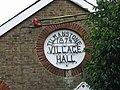Detail on village hall. - geograph.org.uk - 303720.jpg