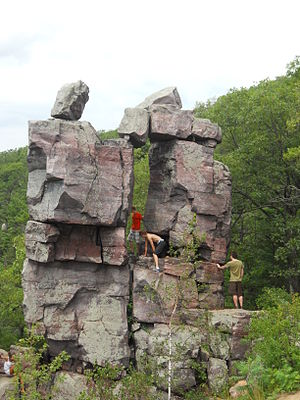 Baraboo Quartzite - Image: Devil's Doorway