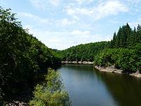 Diège barrage Chaumettes amont.JPG