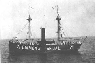 United States Lighthouse Service - Diamond Shoal Lightship No. 71