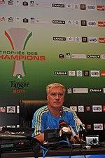 Didier Deschamps en 2011.