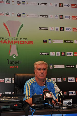 Didier Deschamps - Deschamps in September 2011 as Marseille manager