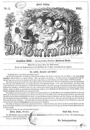 Die Gartenlaube - Volume 1 No. 1, 1853