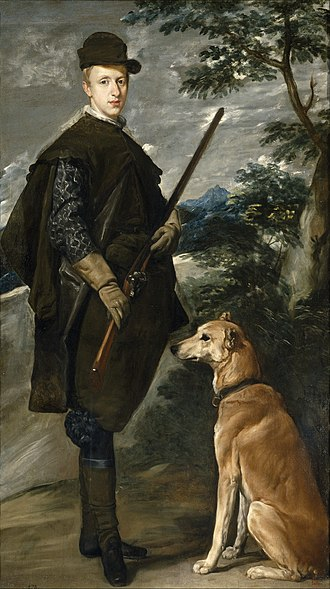 Cardinal-Infante Ferdinand of Austria - Cardinal-Infante Ferdinand of Austria as Actaeon by Diego Velázquez