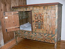 Box bed wikipedia for Meuble breton ancien