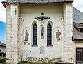 Diex Wehrkirchhof Pfarrkirche hl. Martin Kreuzigungsgruppe an der Ost-Seite 26052017 8700.jpg