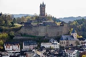 Dillenburg - Dillenburg - View on the Wilhelmsturm and the old town