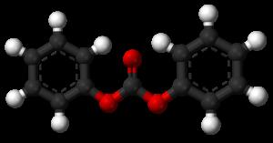 Diphenyl carbonate - Image: Diphenyl carbonate 3D balls