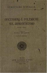 Discussioni e polemiche sul Romanticismo