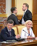 Dmitry Kozak and Olga Golodets 16 May 2013.jpeg
