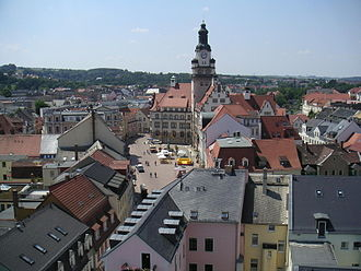 Döbeln - View on the old town