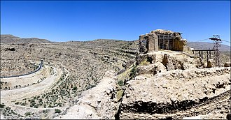 Qal'eh Dokhtar - Dokhtar Castle and gorge.
