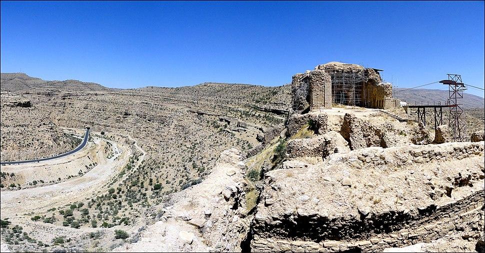 Dokhtar Castle Firuzabad Hadi Karimi