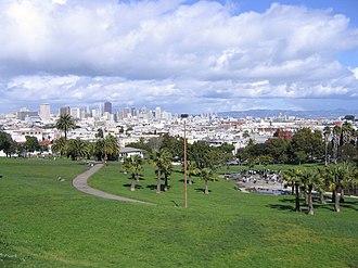 Mission Dolores Park - Image: Dolores park
