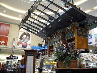 Dôme (coffeehouse) - A Dôme cafe which used to be located in Westfield Carousel, Cannington, Australia