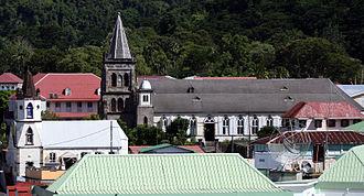 Religion in Dominica - Churches in Roseau, Dominica