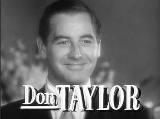 Don Taylor (American actor and director) - Don Taylor in Father's Little Dividend (1951)