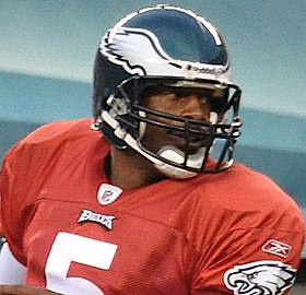 Headshot of Donovan McNabb in uniform