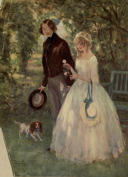 File:Dora Spenlow from David Copperfield art by Frank Reynolds.jpg