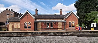 Dore and Totley railway station Railway station in South Yorkshire, England