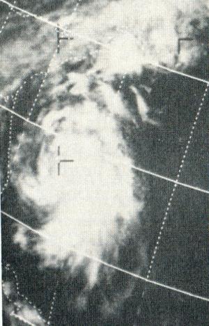Tropical Storm Doria - Image: Doria August 2619711832UTCESSA9