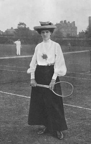 Dorothea Douglass Lambert Chambers - Dorothea Lambert Chambers in 1906