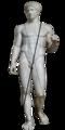 Doryphoros MAN Napoli Inv6011 Schema-Contrapposto-chiasmo-ponderazione-Canone policleteo-Doriforo di Policleto.png